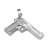 Oceľova pištole na retiazka 6895 - steel