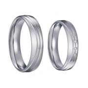 Oceľové snubné prstene SPPL035
