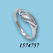 Strieborný prsteň 1574757