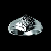Prsteň oceľový 091-cr