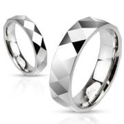 Oceľový prsteň Spikes 2503