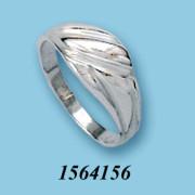 Strieborný prsteň 1564156
