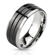 Oceľový pánsky prsteň 3103