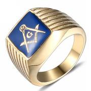 Oceľový pečatný prsteň WJHZ54-Slobodomurári