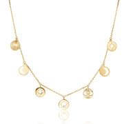 Pozlátený náhrdelník s kryštálmi Swarovski Brosway Chant BAH02