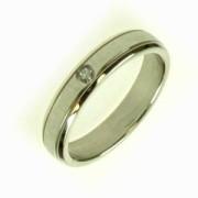 Oceľový prsteň R1423S