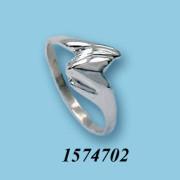 Strieborný prsteň 1574702