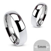 Oceľový prsteň Spikes 001-5