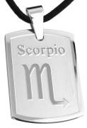 Oceľový prívesok SESSP823-08 Škorpión