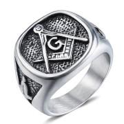 Oceľový pečatný prsteň WJHZ112-Slobodomurári