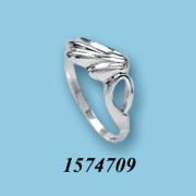 Strieborný prsteň 1574709