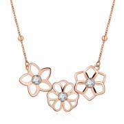 Dámsky náhrdelník se Swarovski elements Brosway Ikebana BKE06