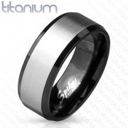 Prsteň z titánu 3906