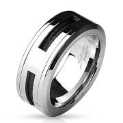 Moderný pánsky prsteň 4597