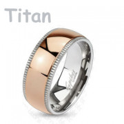 Titánový prsteň Spikes 4379