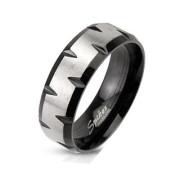 Oceľový prsteň Spikes 1180