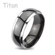 Titánový prsteň Spikes 3034