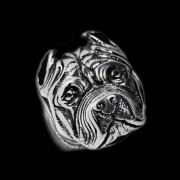 Oceľový prsteň Pitbull WJHZ337