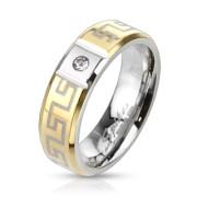 Oceľový prsteň Spikes 2194