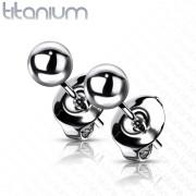 Titánové pecky do uší SET23ER03