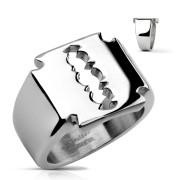 Oceľový prsteň 0026