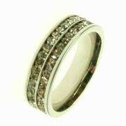 Oceľový prsteň R1188