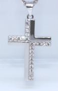 Strieborný krížik 306200