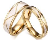 Snubné prstene chirurgická oceľ JCFCR074W