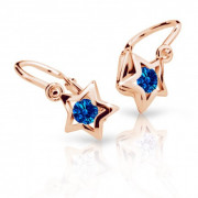 Náušnice pre babatko Cutie Jewellery C1942R-Dark Blue