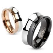 Oceľový prsteň Spikes 2993