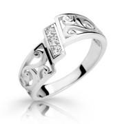 Strieborný prsteň 2374