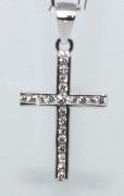 Strieborný krížik 304611