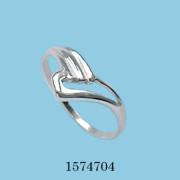 Strieborný prsteň 1574704