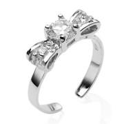 Prsten strieborny 024