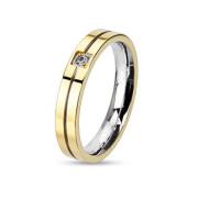 Oceľový prsten Spikes 2122
