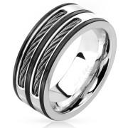 Moderný pánsky prsteň 4604
