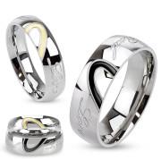 Oceľové snubné prstene 3030