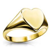 Pečatný prsteň srdce SERM7689G
