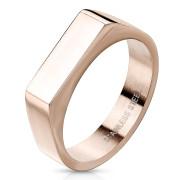 Dámsky pečatný prstienok zlatý SERM7686RD