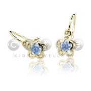 Náušnice pre babatko Czutie Jewellery C2204Z Arctic Blue