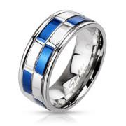 Oceľový prsteň Spikes 2184