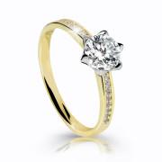 Zásnubný prsteň zlaty Z6149Y