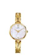 Zlaté dámske hodinky Dugena Elin 4460669