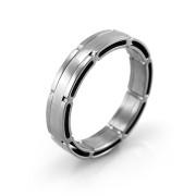 Oceľový prsteň MCRSS035