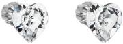 Strieborné náušnice Swarovski elements 31139.1