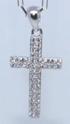 Strieborný krížik 306405