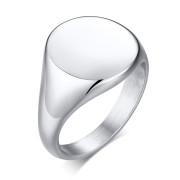 Dámsky pečatný prsteň z chirurgickej ocele SERC448