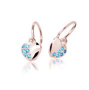 Detské náušnice Cutie Jewellery C2160R-Arctic Blue