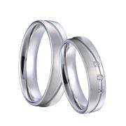 Oceľové snubné prstene SPPL034