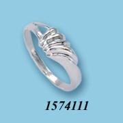 Strieborný prsteň 15741111